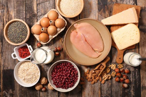 protéines régime musculation