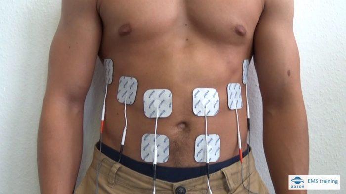 électrodes musculation